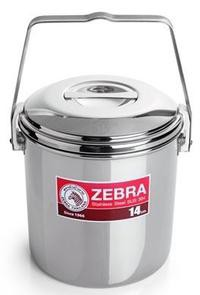 Zebra Loop Handle Pot Auto Lock
