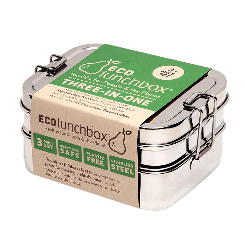 Ecolunchbox Three-in One
