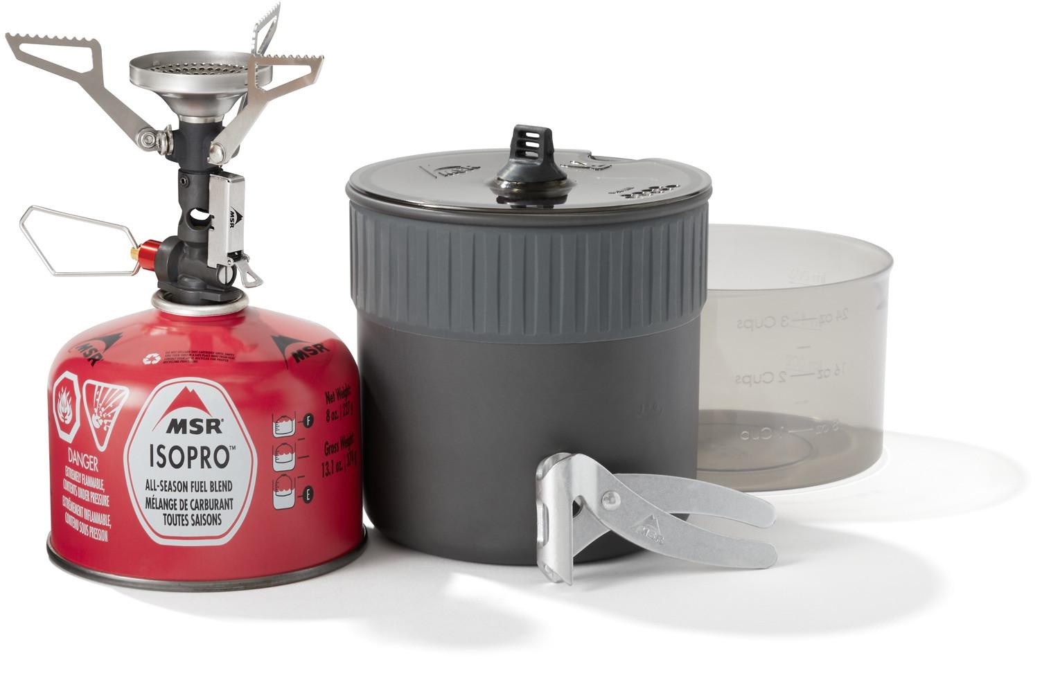 Batterie De Cuisine Gaz kit de réchaud msr pocket rocket deluxe