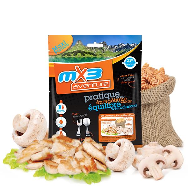 Poulet et pâtes aux champignons - MX3