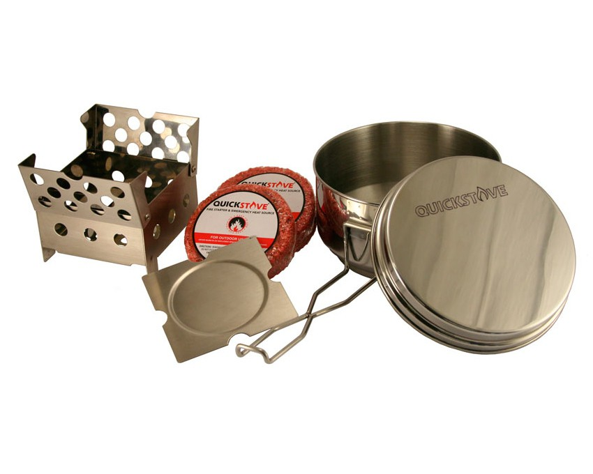 QuickStove Cook Kit (w/ Pot)