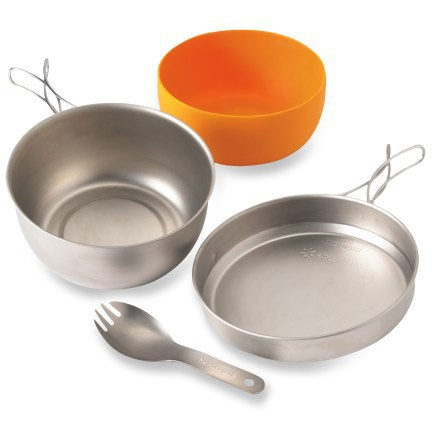 Hybrid Trail Cookset Snow Peak