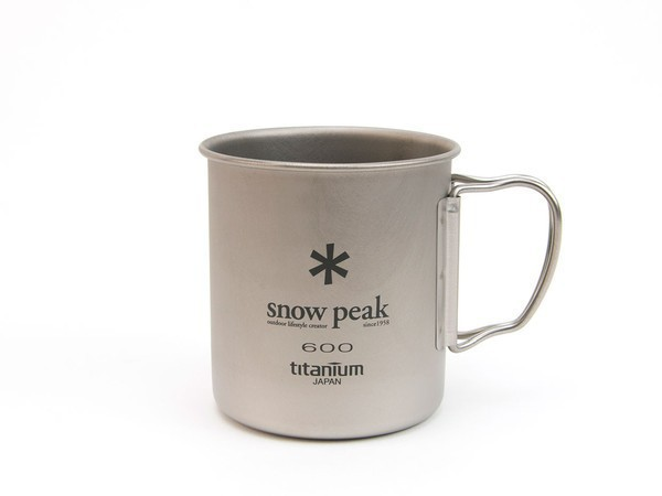 Snow Peak Titanium Single Cup 600