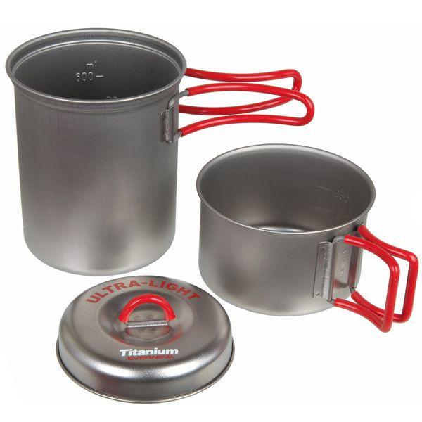 Evernew Ti Solo Pot Set 750 ml