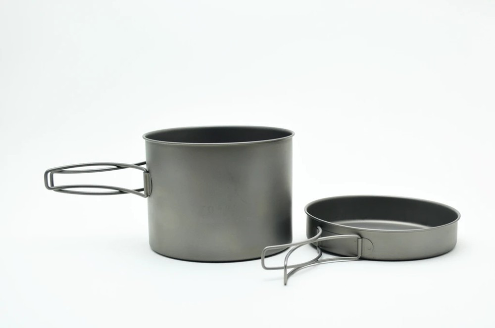 Toaks Titanium 1300ml Pot with Pan