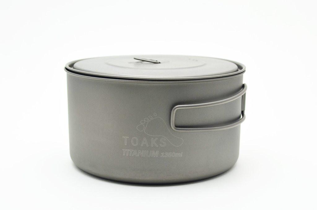 Toaks Titanium 1350ml Pot