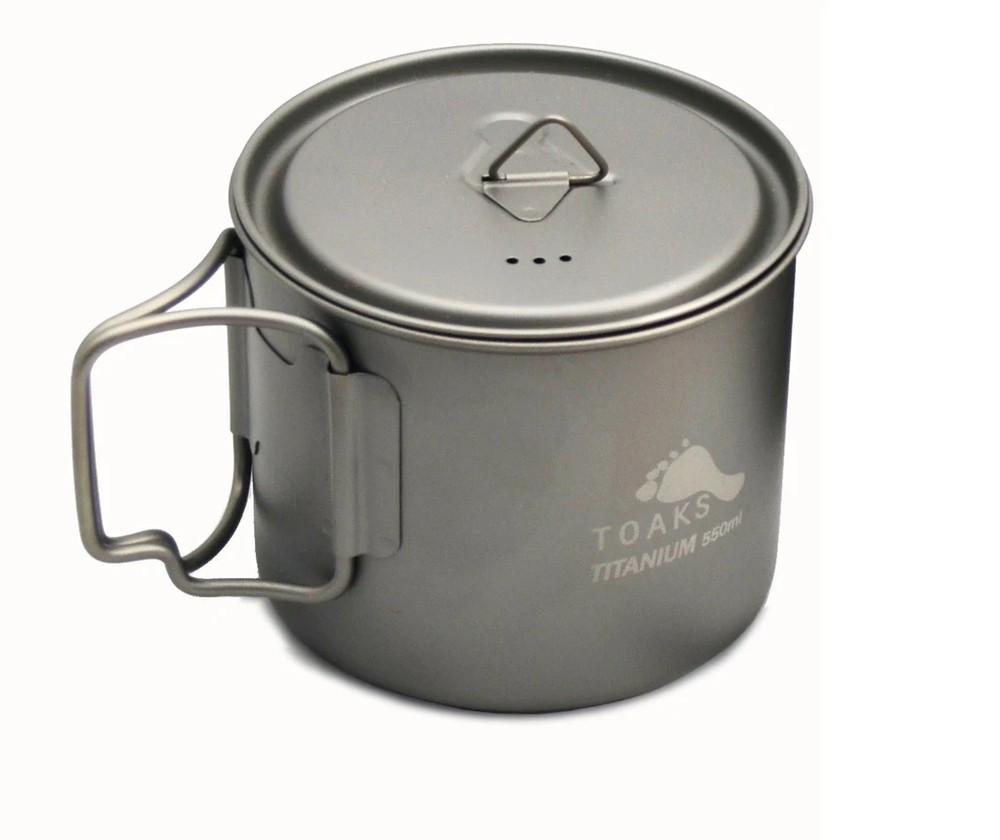 Toaks Titanium Light 550ml Pot