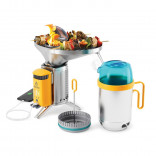 Pack Biolite CampStove 2+ Complete Cook Kit