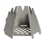 Vargo Stainless Steel Hexagon Wood Stove