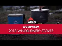 New for 2018: MSR WindBurner Stove Systems