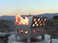 Cube Stove Boil Test